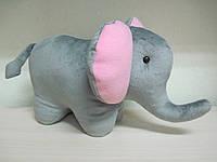 Мягкая игрушка слон ручная работа