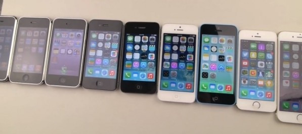 Дисплеи Apple iPhone