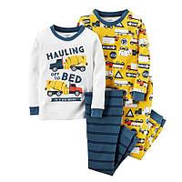 Комплект пижам хб Carters (Картерс) (2Т, 4Т)
