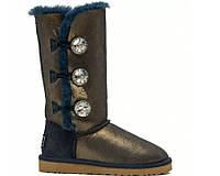 UGG Bailey Button Triplet Bing Blue Gold
