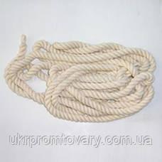 Канат для перетягивания d=35мм 20 метров гимнастический, фото 2