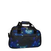 Дорожная сумка-саквояж самая маленькая 204 синяя, фото 1