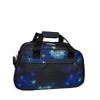 Дорожная сумка-саквояж маленькая 204 синяя