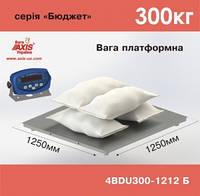 Весы платформенные складские AXIS 4BDU300-1212-Б