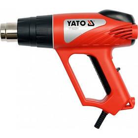 Фен технический 2000Вт. в наборе 70-550С YATO (YT-82291)