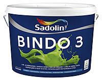 Краска интерьерная Sadolin BINDO 3 Садолин Биндо 3, 5 л