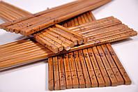 Бамбуковые палочки для еды лакированные 24см