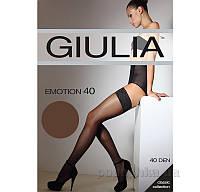 Чулки темно-коричневые 40 Den Giulia Emotion Сappuccino 1/2