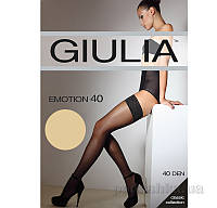Чулки бежевые 40 Den Giulia Emotion Daino 1/2