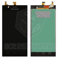 Дисплейный модуль для мобильного телефона  Lenovo K900, черный