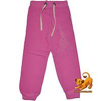 """Детские утепленные спортивные брюки """"Paris"""" , из трикотажа на флисе , для девочки от 5 до 8 лет"""