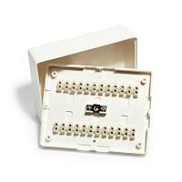 КМС 2-24Мн / коробка расключительная в трудногорючем корпусе
