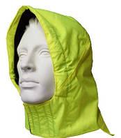 Капюшон сигнальный утепленный 7141К к куртке