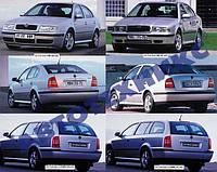Автостекло на Шкода октавия тур / Skoda octavia (хетчбек, комби) (1997-2010)