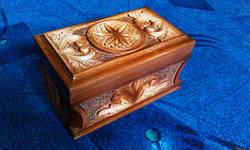 Шкатулка резная сувенирная, фото 2