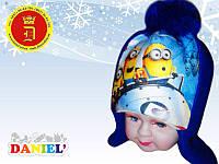 Детские шапочки с картинками оптом