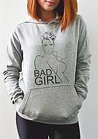 """Женская толстовка """"Bad girl"""""""