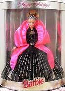 Лялька Барбі колекційна Святкова 1998 ( Barbie Happy Holidays Special Edition Barbie Doll (1998), фото 7