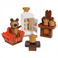 Конструктор в контейнере 35 деталь Маша и Медведь BIG 57093