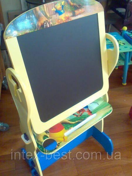 "Детский двухсторонний мольберт ""Вини-пух"" J 002-3465"