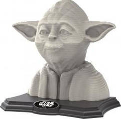 Пазл 3D Скульптура, Йода, 160 элементов Educa  16501