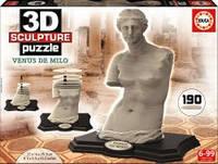 Пазл 3D Скульптура, Венера Милосская, 190 элементов Educa EDU-16504