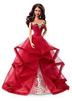"Barbie ""Праздничная 2015"" Афро-американка Collector 2015 Holiday African-American Doll"
