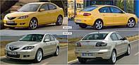 Автостекло на Мазда 3 / Mazda 3 (хетчбек, седан) (2003-2009)
