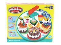 Набор для творчества birthday cake 8050 пластик+пластилин 37x8.5x26см