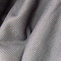 Шерстяная пальтовая ткань (тёмно синего цвета)