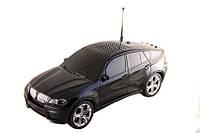 Радиоприемник BMW X6 (Черный) со встроенным MP3 плеером, FM радио, поддержкой USB флешек