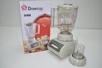 Блендер с кофемолкой 2 в 1 Domotec DT999 4 режима