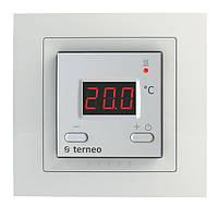 Цифровой термостат для теплого пола Terneo st unic (белый)