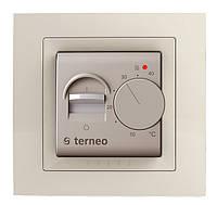Механический терморегулятор для теплого пола Terneo mex unic (слоновая кость), фото 1