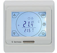 Программируемый сенсорный термостат для теплого пола Terneo sen с датчиком температуры пола