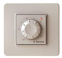 Терморегулятор Terneo rtp (слоновая кость) регулировка температуры теплого пола вручную