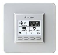Программируемый термостат для теплого пола Terneo pro (белый) с датчиком температуры пола