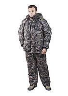 Зимний Костюм для охоты и рыбалки - силиконовый утеплитель, дышащая ткань, хорошо держит тепло