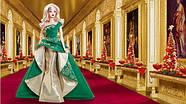Кукла Барби коллекционная Праздничная 2011 ( 2011 Holiday Barbie Doll), фото 2