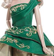 Кукла Барби коллекционная Праздничная 2011 ( 2011 Holiday Barbie Doll), фото 3