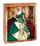 Кукла Барби коллекционная Праздничная 2011 ( 2011 Holiday Barbie Doll), фото 4