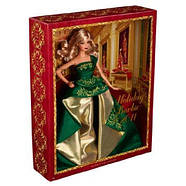 Кукла Барби коллекционная Праздничная 2011 ( 2011 Holiday Barbie Doll), фото 6