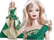 Кукла Барби коллекционная Праздничная 2011 ( 2011 Holiday Barbie Doll), фото 7