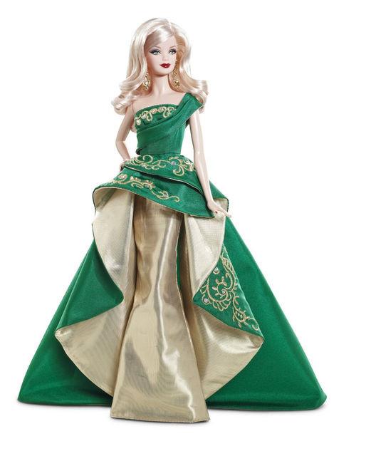Кукла Барби коллекционная Праздничная 2011 ( 2011 Holiday Barbie Doll)