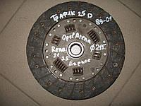 Диск сцепления Sachs 1862909141 1.6, 2.1 б/у D215 на Renault: 17, 18, 20, 21, 25 год 1974-1994