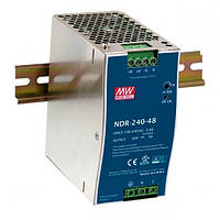 NDR-240-24, NDR-240-48 - однофазные источники питания Mean Well (на DIN-рейку)