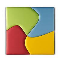 Настенная панель №7 цвет частей произвольный