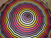 Большой женский зонт трость Star Rain с куполом 110 см