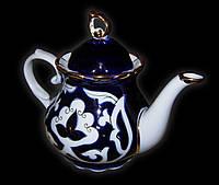 """Узбекская национальная посуда Пахта-стандарт. Чайник """"Груша"""" ~0,9 л."""