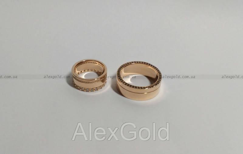 Эксклюзивные кольца обручальные